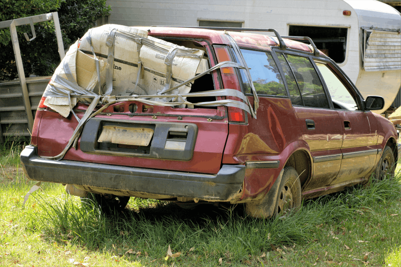 Sell or keep-what to do with a scrap car